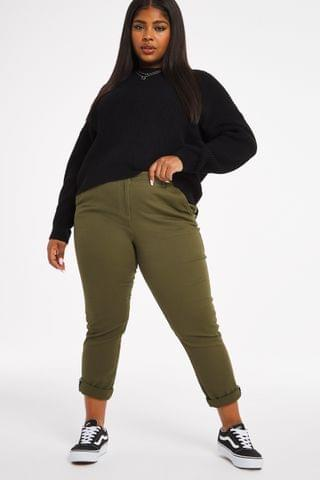 WOMEN Simply Be Stretch Chino Trouser