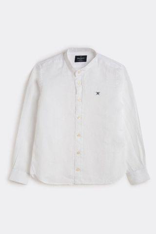 KIDS Hackett Linen Older Boys Shirt
