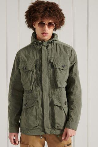 MEN Superdry Military Parka Jacket