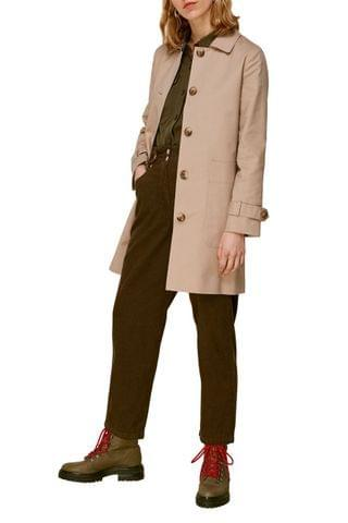 WOMEN Whistles Neutral Classic Trench Coat