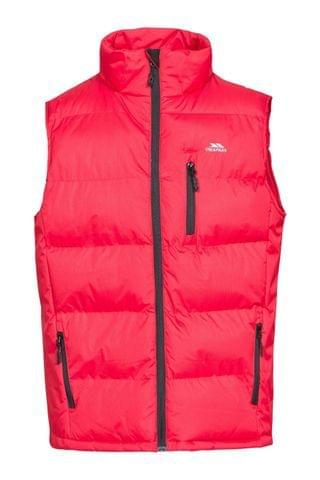 MEN Trespass Red Clasp - Male Padded Gilet