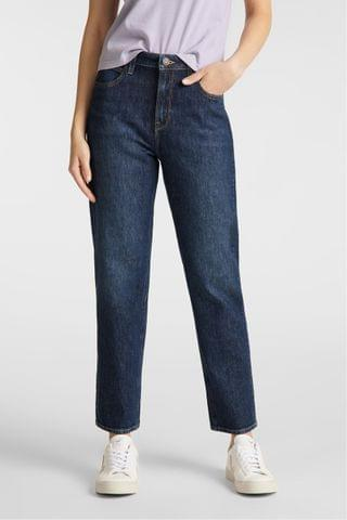 WOMEN Lee Carol Cropped Straight Fit Jeans