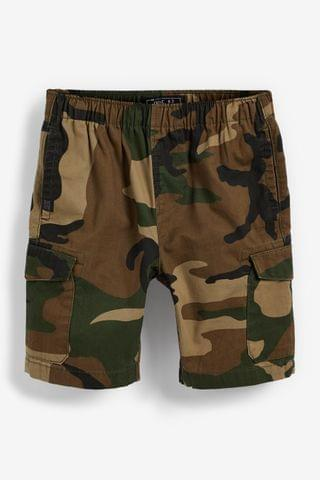 KIDS Camouflage Pull-On Cargo Shorts (3-16yrs)