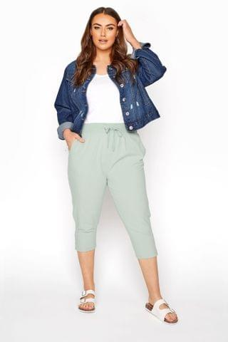 WOMEN Yours Cool Cotton Crop Jogger