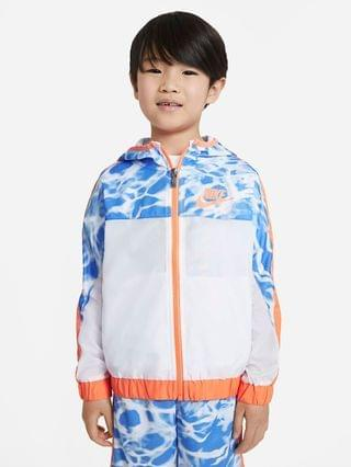 KIDS Little Kids' Woven Full-Zip Jacket Nike