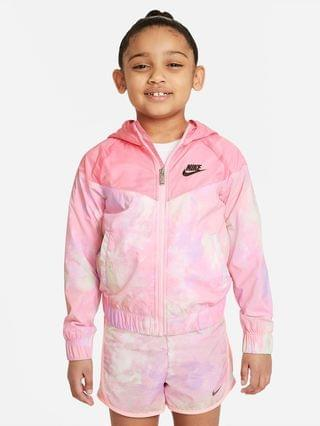 KIDS Little Kids' Full-Zip Jacket Nike Sportswear Windrunner
