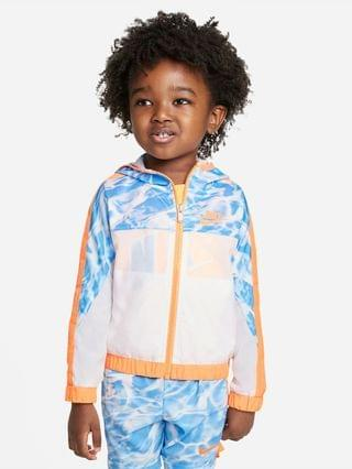 KIDS Toddler Woven Full-Zip Jacket Nike