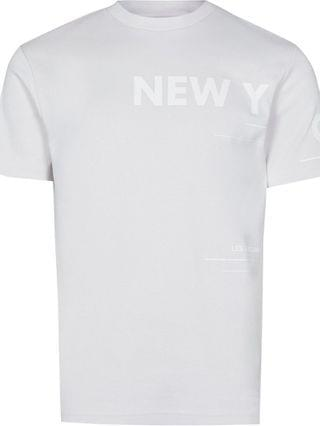 MEN Grey New York graphic t-shirt