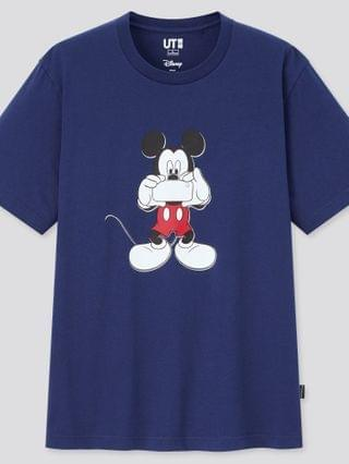 MEN mickey mouse photo days ut (short-sleeve graphic t-shirt)