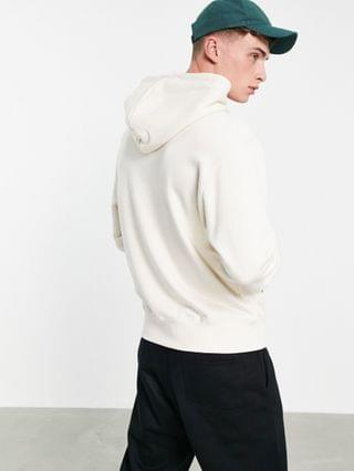 adidas Originals Yoda non-dyed hoodie in off-white