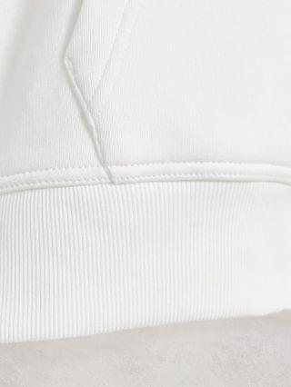 GANT archive shield embroidered logo hoodie in eggshell white