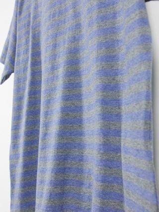 TEST LEVI Levi's vintage relaxed fit stripe t-shirt in estate blue heather
