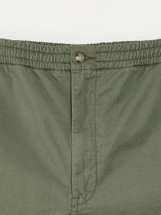 Polo Ralph Lauren Big & Tall stretch twill player logo prepster shorts in mountain green