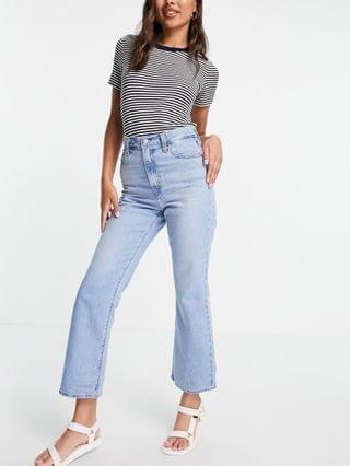 WOMEN Levi's Math Club flared jeans in light wash