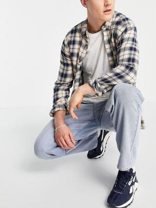 New Look loose jeans in light blue wash