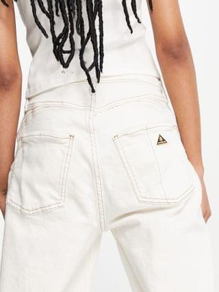 WOMEN River Island Carrie mom jeans in white