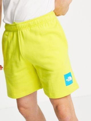 The North Face Never Stop shorts in yellow Exclusive at
