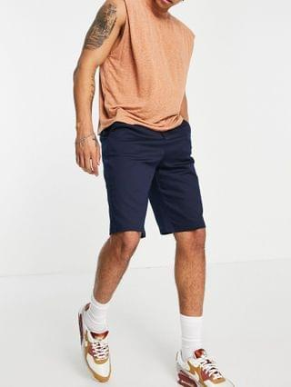 River Island shorts in navy
