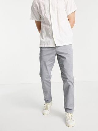New Look slim chinos in mid blue