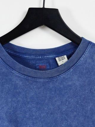 TEST LEVI Levi's Stay Loose fit rugged dye T-shirt in estate blue