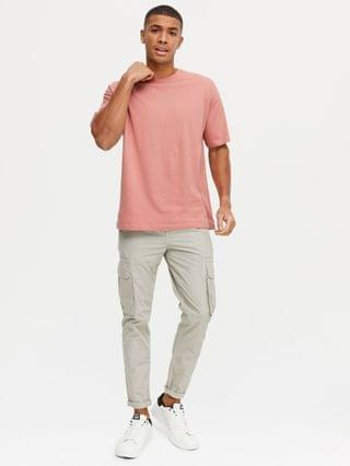 New Look oversized t-shirt in pink