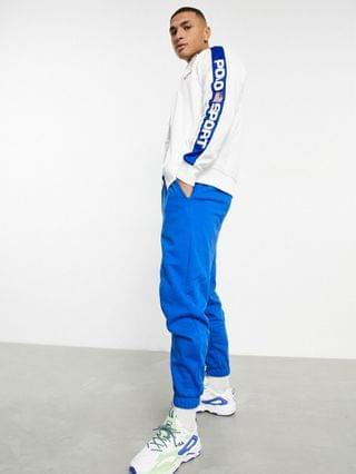Polo Ralph Lauren Sport capsule poly tricot fleece taped logo trim track jacket in white