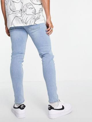 New Look skinny jeans in light washed blue