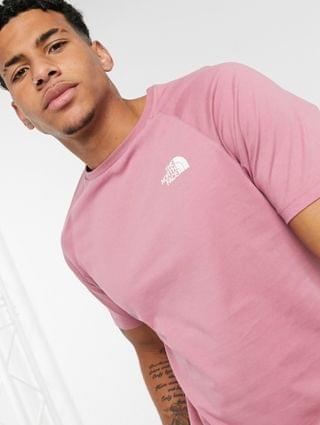 The North Face Faces t-shirt in pink Exclusive at