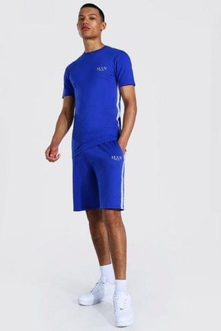 MEN Tall Muscle Fit Man Tshirt And Short Set
