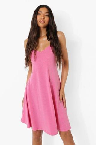 WOMEN Tall Recycled Strappy Swing Dress