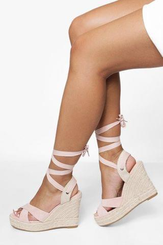 WOMEN Crossover Wrap Up Wedge