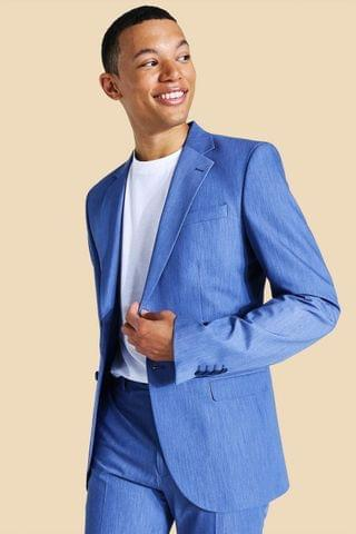MEN Tall Skinny Single Breasted Suit Jacket