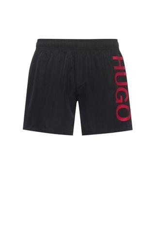 MEN Quick-dry logo swim shorts in recycled fabric