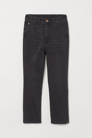WOMEN Skinny High Cropped Jeans