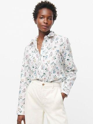 WOMEN Classic-fit shirt in Liberty Annelise floral