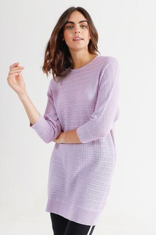 WOMEN Batwing Knit Pullover