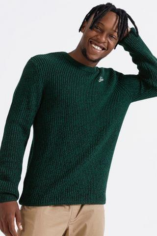 MEN Chunky Knit Pullover