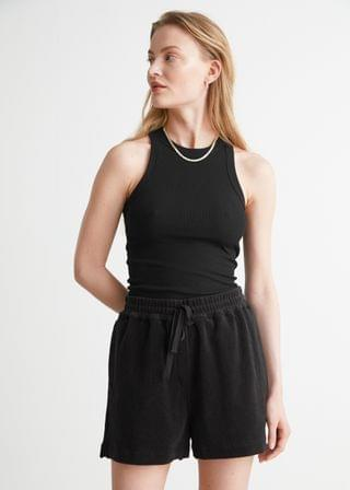 WOMEN Relaxed Terry Shorts