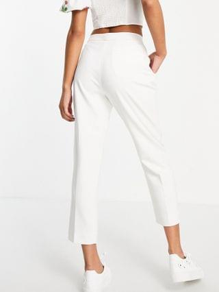 WOMEN French Connection Indie Whisper tailored pants in white - part of a set