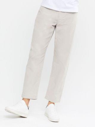 New Look original fit corduroy jeans in light gray