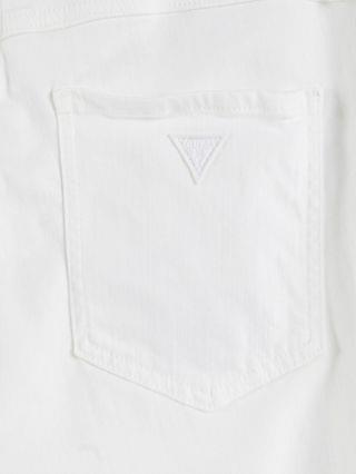 WOMEN Guess crop 1981 skinny jeans in white