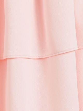 WOMEN Puma Queen PLUS frill tiered skirt in pastel pink
