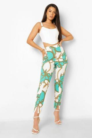 WOMEN Borg Sweater And Wide Leg Pants Two-Piece Set