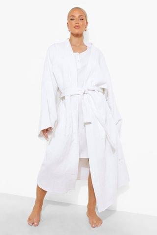 WOMEN Maternity Waffle Dressing Gown