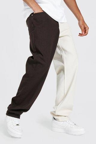 MEN Tall Relaxed Fit Spliced Jean