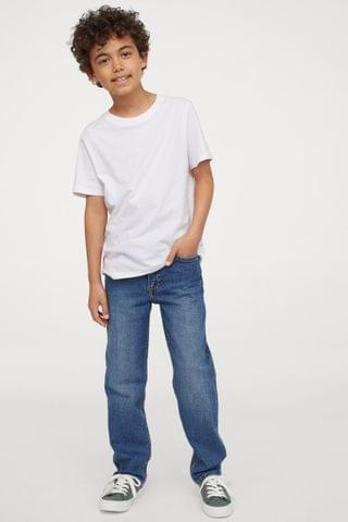 KIDS Straight Fit Stretch Jeans