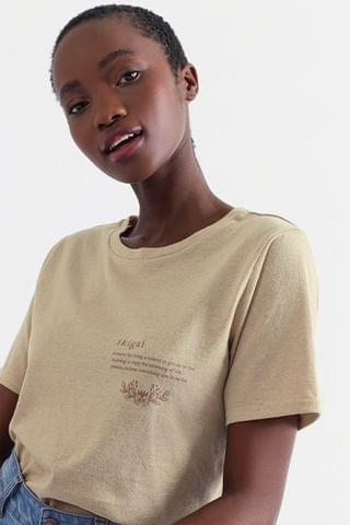 WOMEN Recycled Statement T-shirt
