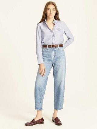 WOMEN High-rise Peggy tapered jean in Delancey wash