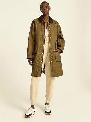 WOMEN Long Barn Jacket with removable PrimaLoft liner