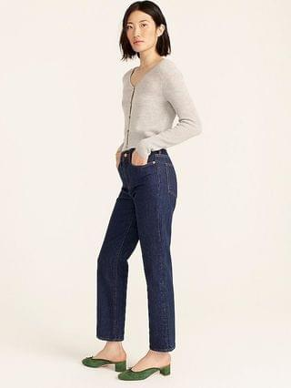 WOMEN High-rise '90s classic straight jean in Rinse wash
